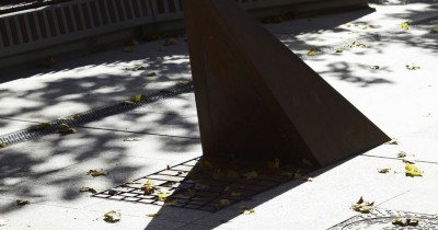 Corten steel urban furniture