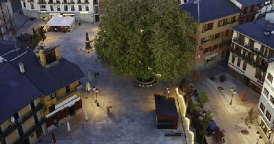Remodeling of urban space in Cerdanya