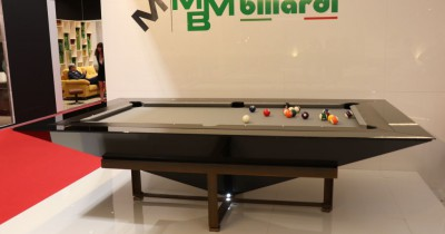 Diamante Nero. Design billiard table