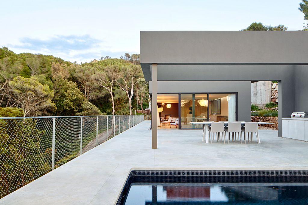 Construcci n de una casa de estilo moderno en la costa - La casa de la construccion ...