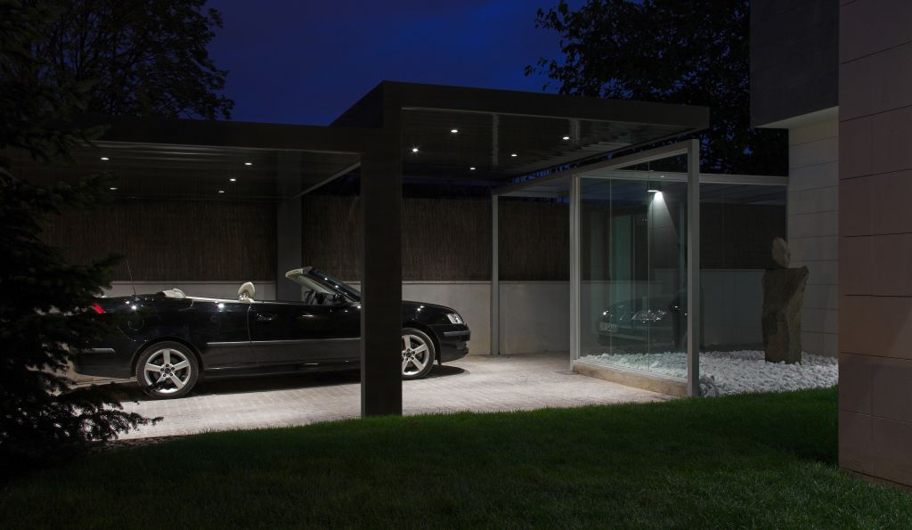 Construction of a porch in sant cugat del vall s pepe gascon arquitectura - Porches para coches ...