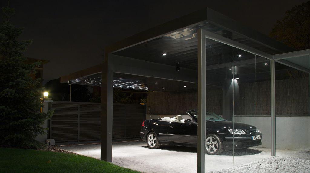 Construcci n de un porche en sant cugat del vall s pepe gascon arquitectura - Porches para coches ...
