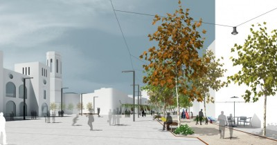 Remodeling of urban space in Sabadell